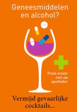 Folder geneesmiddelen en alcohol – uitverkocht