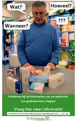 Affiche individuele medicatievoorbereiding (IMV)