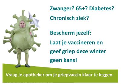 Afbeeldingsresultaat voor griepvaccinatie
