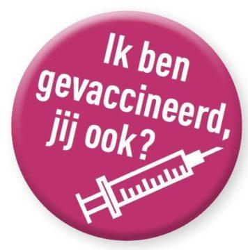 Badge vaccinatie