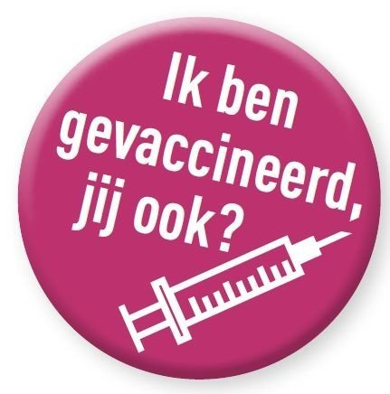 Badge vaccinatie