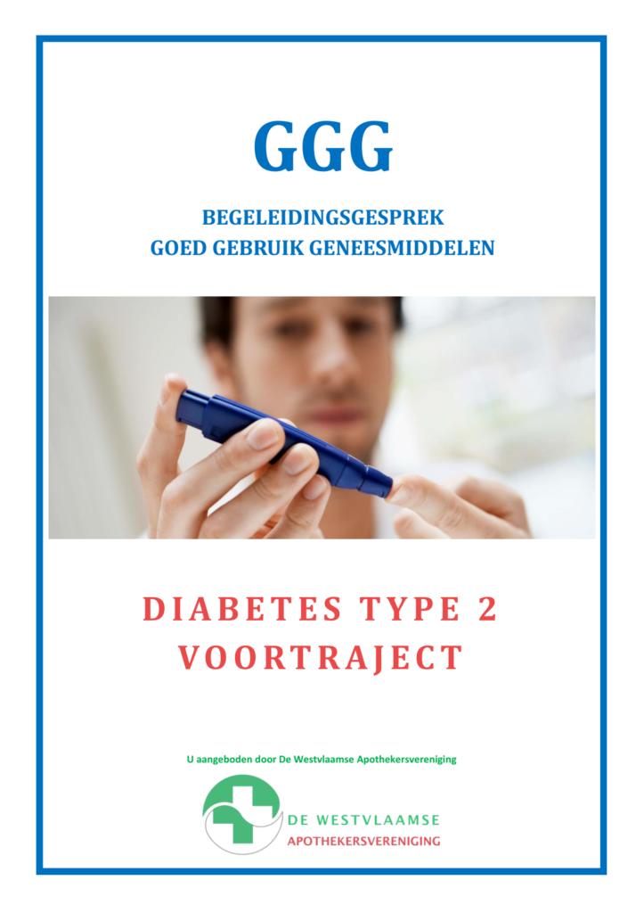 GGG map: Diabetes type 2 voortraject