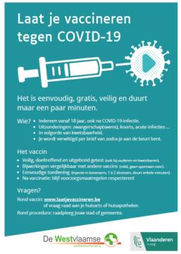 Folder COVID-vaccinatie (leden)